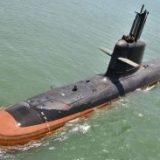 INS Khanderi commenced its sea trials