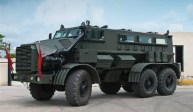 Indian Army Places Order For 250 Mine Protected Vehicles