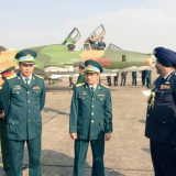 Air Chief on a visit to Vietnam