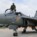 IAF Southern Command Chief Air Marshal RKS Bhadauria flew Tejas aircraft