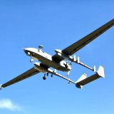 Army drone crashed in China
